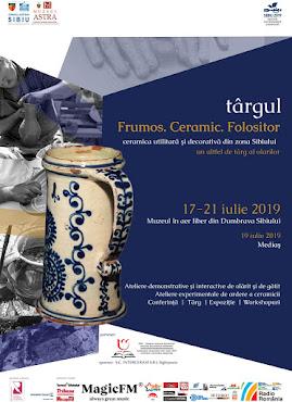 Târgul Fromos, Ceramic, Folositor, 17-21 iulie 2019
