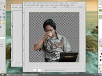 editing photo sederhana menggunakan GIMP