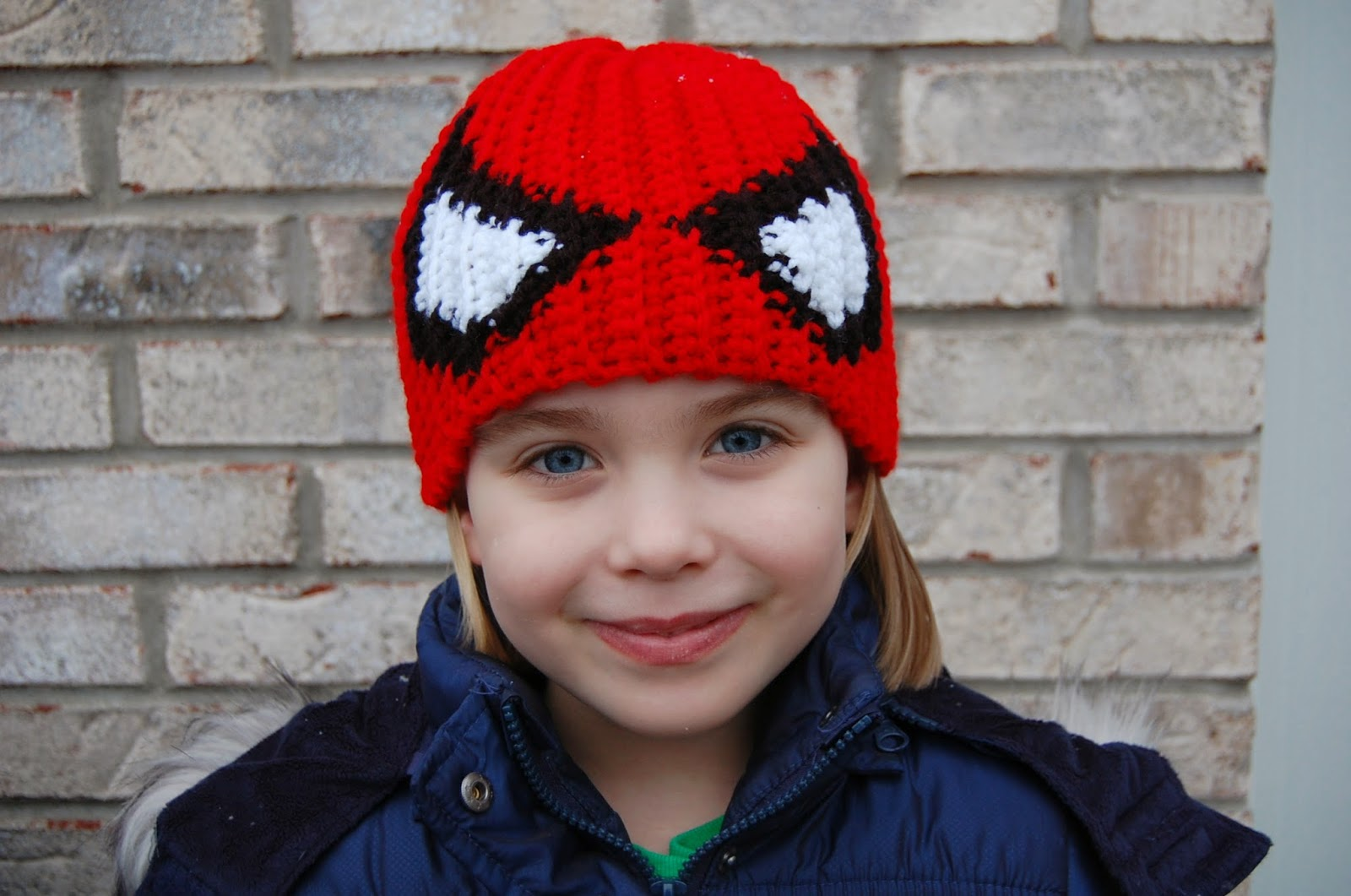 Roonie Ranching: Cameron\'s Spider-Man Beanie