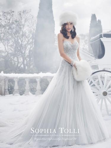 Sophia Tolli suknie ślubne jesień 2015