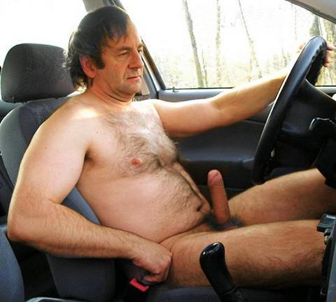 meando gay camioneta