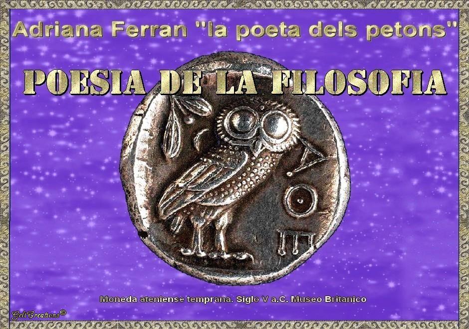 Poesia de la Filosofia per Adriana Ferran