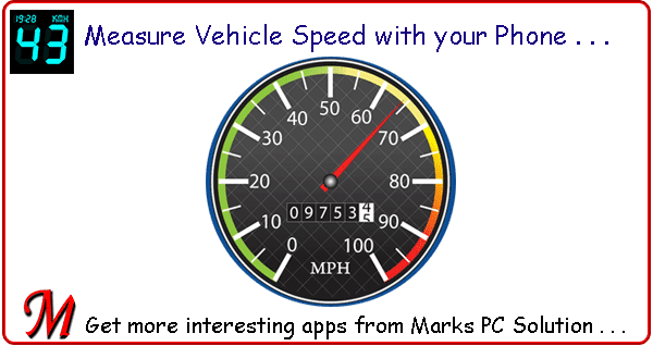 Measure Vehicle Speed with DigiHUD Speedometer