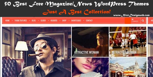 50 Best Free News & Magazine WordPress Themes