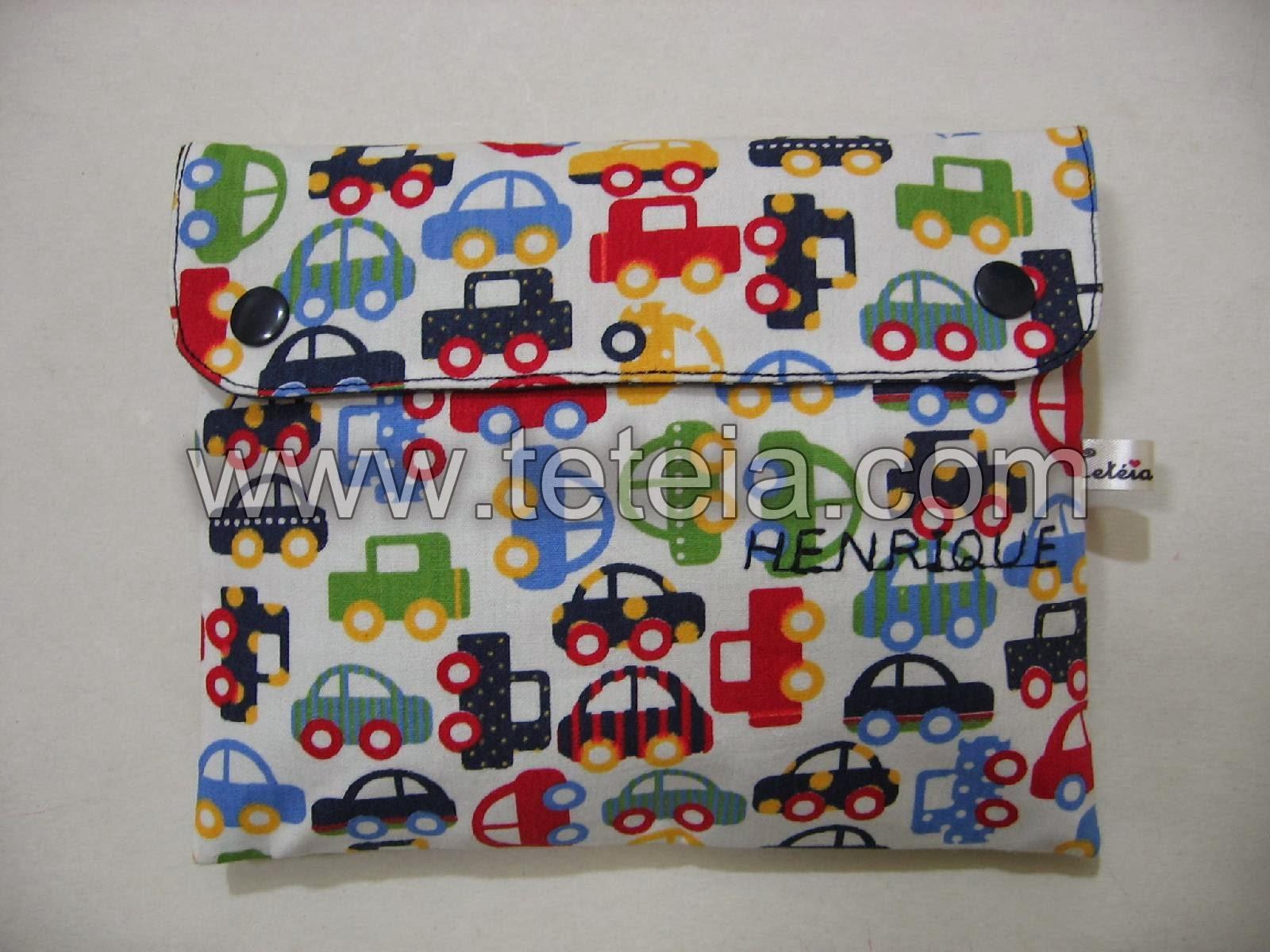 Tetéia Patchwork: Kit de higiene bucal infantil carrinhos/marinho  #831C23 1600x1200