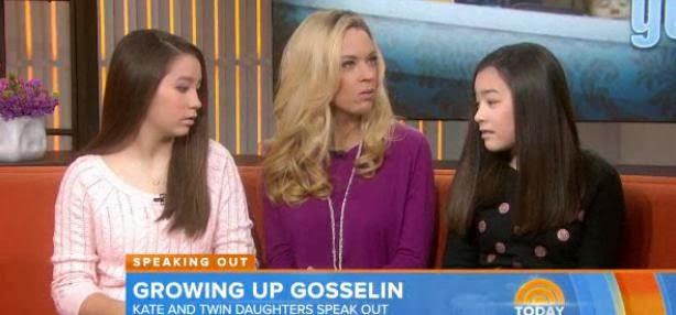 Kate Gosselin, Cara and Mady Gosselin, Today show, whorrified,
