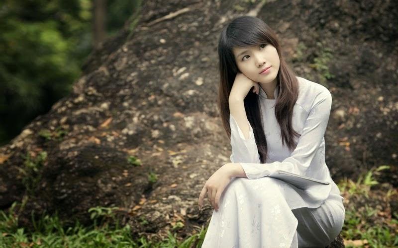 Ảnh gái đẹp diệu dàng trong tà áo dài 35