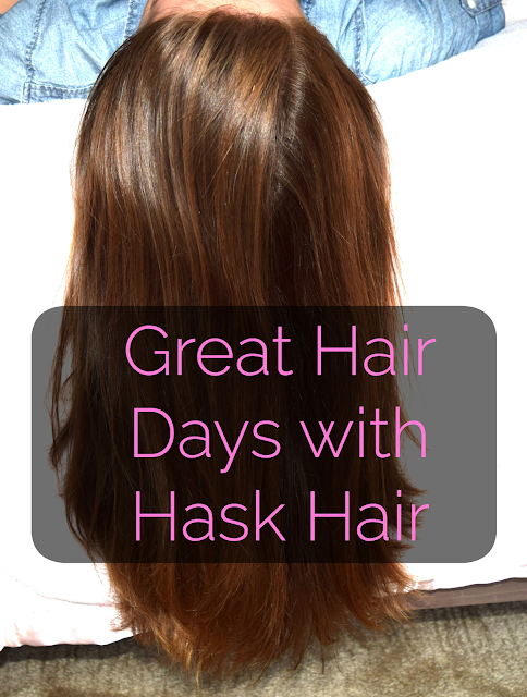 Great Hair days with Hask Hair