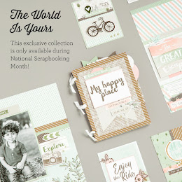 National Scrapbooking Month: The World is Yours