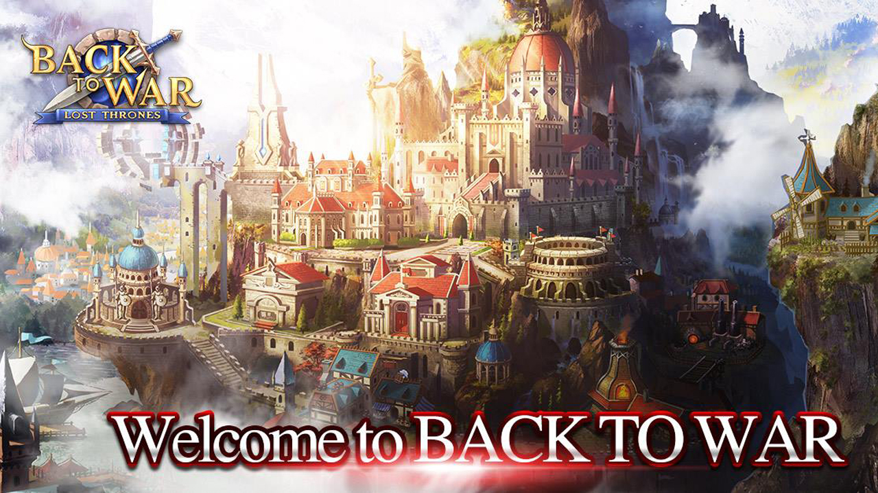 Back to War: Lost Throne Gameplay IOS / Android