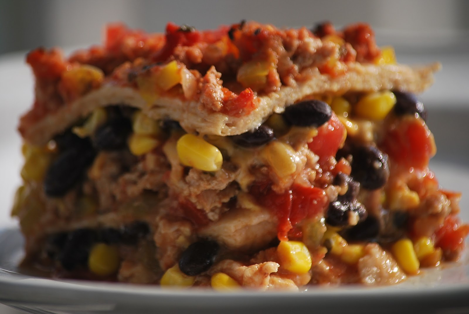 My story in recipes: Mexican Lasagne