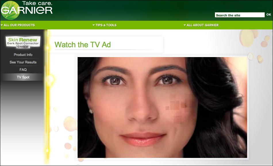 Maria Elena Laas Garnier Ad Now Live!