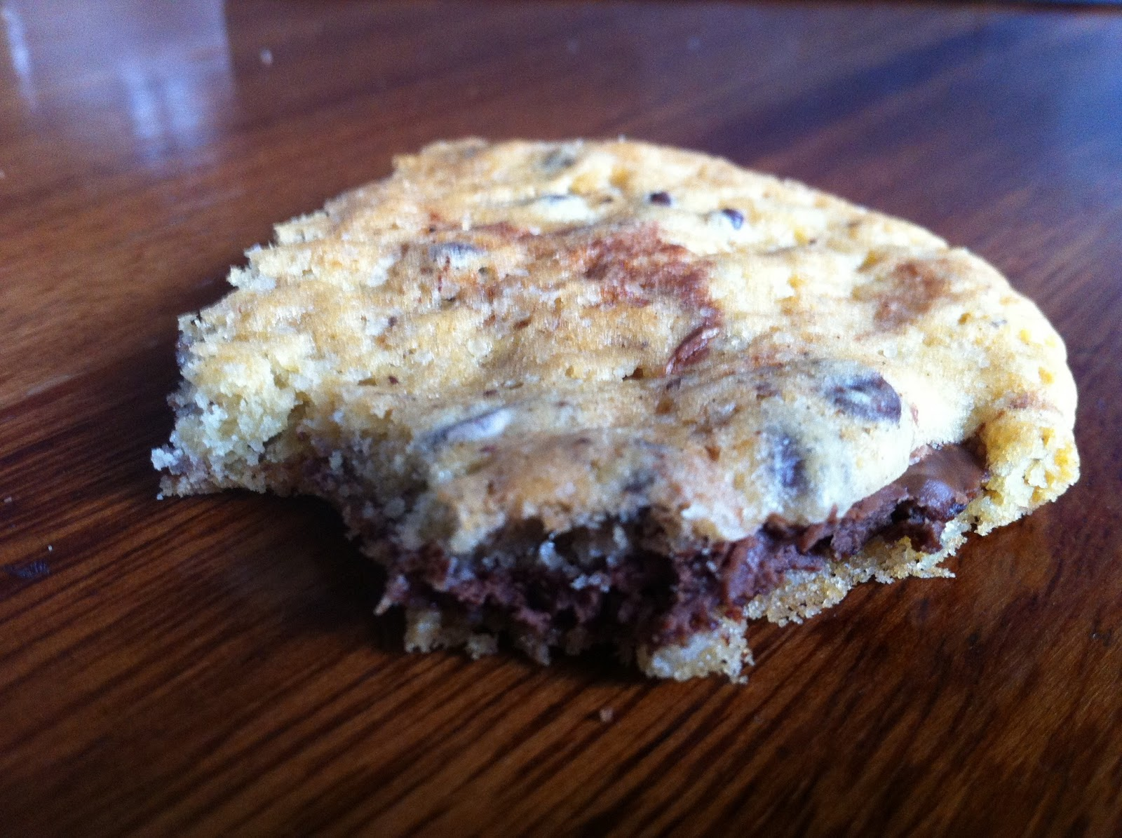 Giant Nutella Stuffed Chocolate Chip Cookies Recipe — Dishmaps