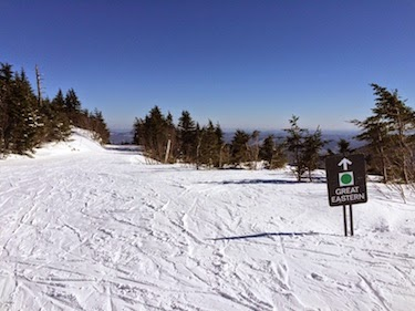 Chuck and Lori's Travel Blog - Top of the Great Eastern Trail, Killington, VT