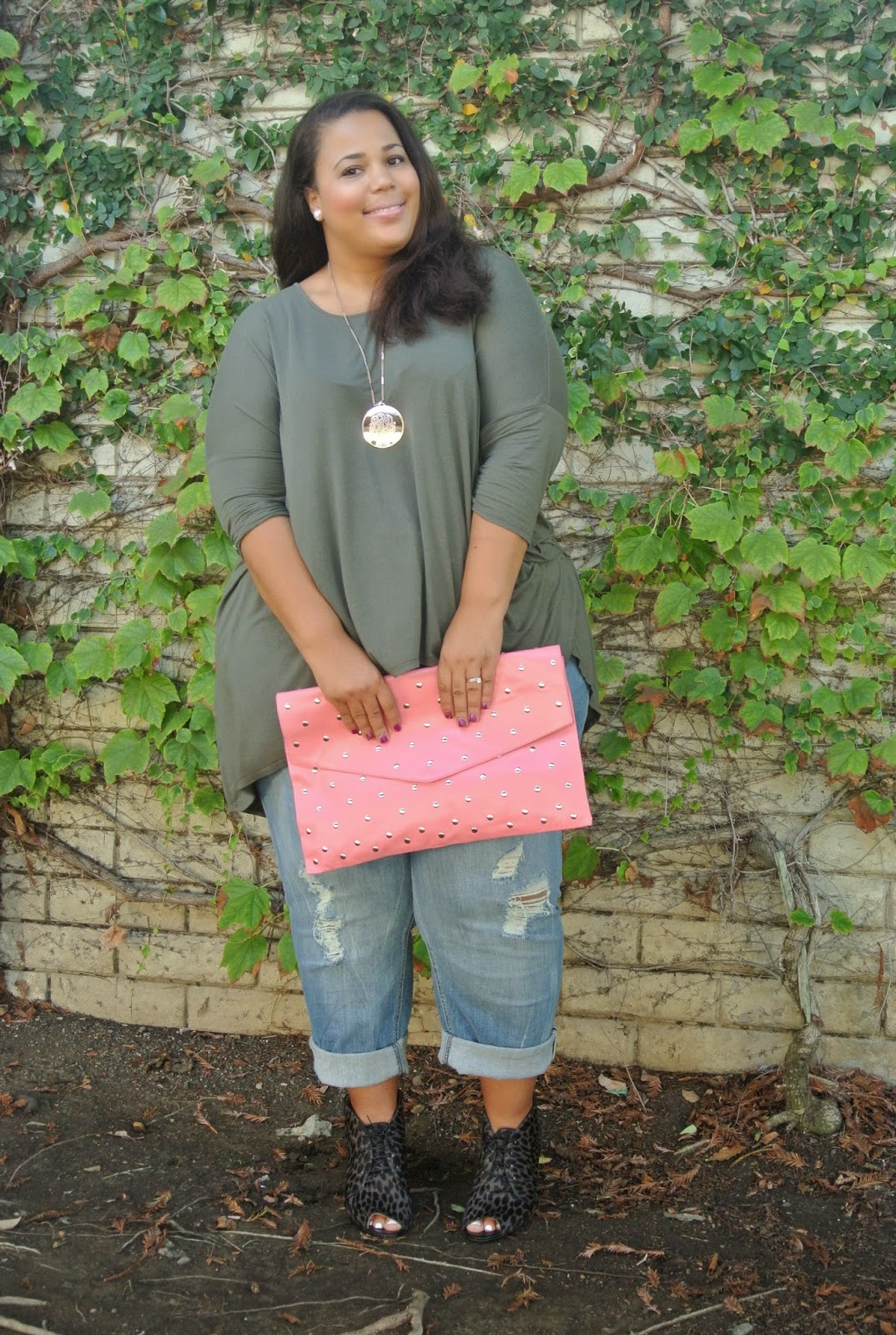 plus size boyfriend jeans, plus size casual look
