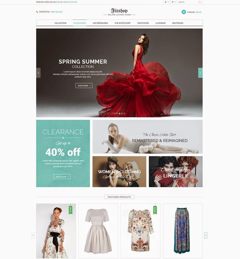 Fitshop – WooCommerce WordPress Theme