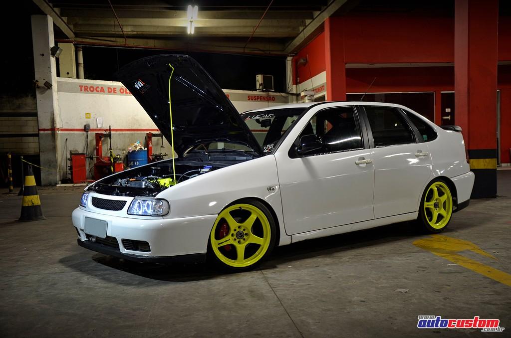 Tudo Rebaixado - Aqui seu carro brilha!: Polo Classic 1997 com motor 1 ...