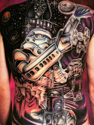 Star Wars Tatouage