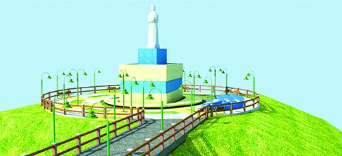 Prefeitura de Aldeias Altas investe no turismo religioso