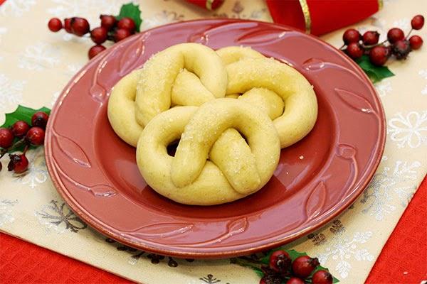 Pretzel-Cookies