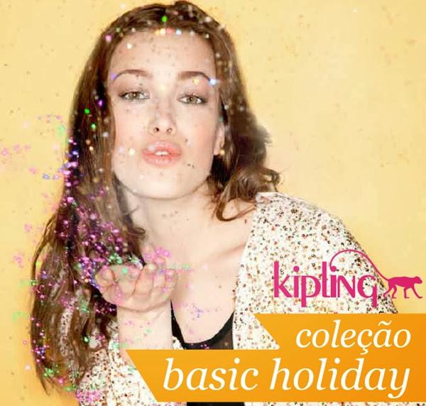 coleção Kipling basic holiday, material escolar, bolsa