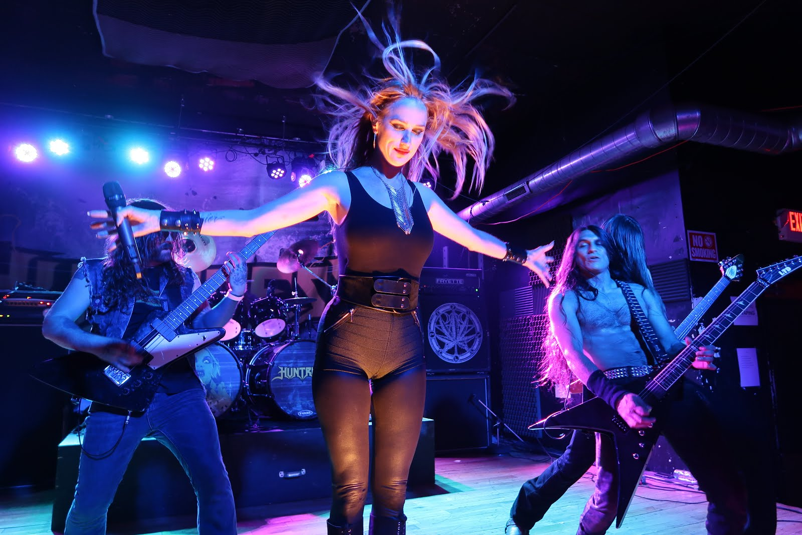 Glacially Musical: Concert Review: Huntress at Fubar in St  Louis