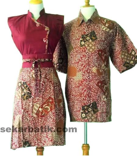 Baju Batik Modern Pekalongan Solo Wanita Pria Model Terbaru