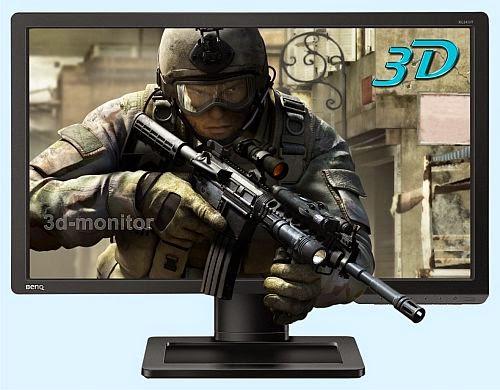 3D monitor BenQ XL2411T