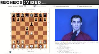 Les échecs en vidéo avec 3 grands-maîtres