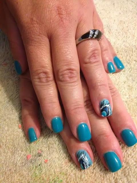 acrylic overlay; LED polish manicure with hand painted peacock feather eye manicure-Classic-French-white-nails-acrylic-backfill-LED-polish-Pedicure-Gel-Nails-Polish-LED-Polish-LED-Nails-Manicure-Acrylic-Nails-Nail-Art.jpg