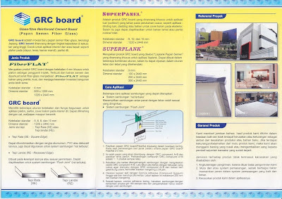 Plafond dan Partisi : GRC Board