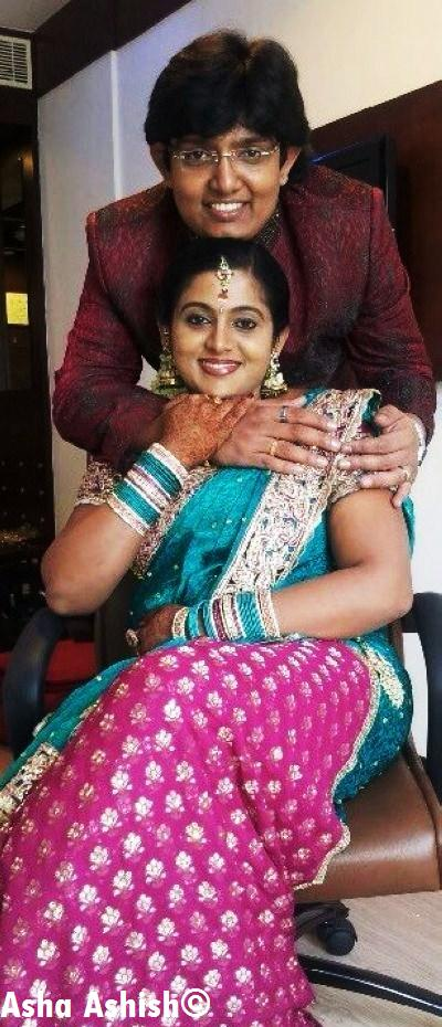 Asha Ashish: Malayalam Serial actress Veena Nair Engagement stills