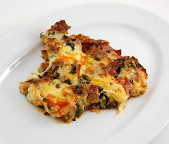 Pizza Bake w/Zuchinni