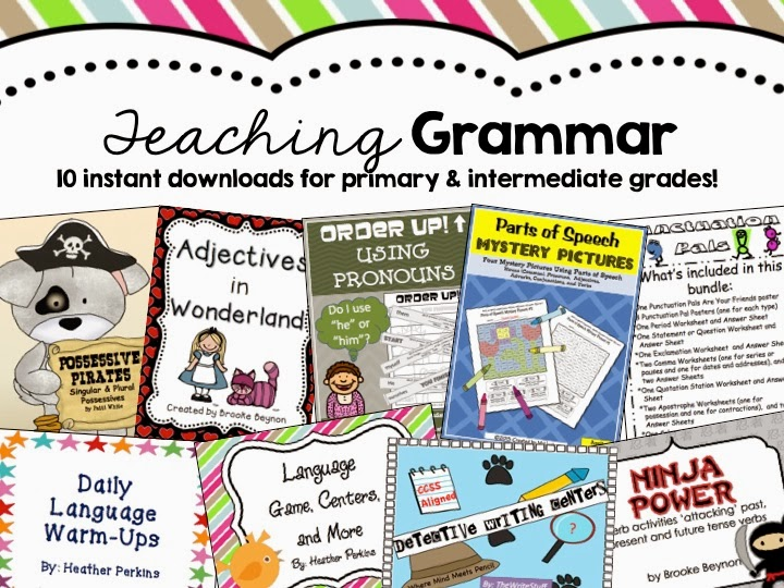 http://www.educents.com/teaching-grammar.html#secondgradeperks