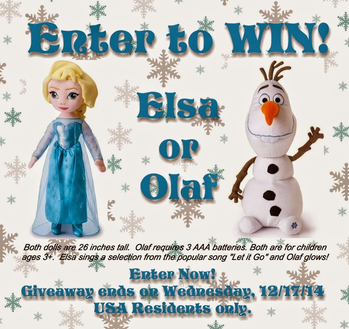 Win Disney Frozen Dolls
