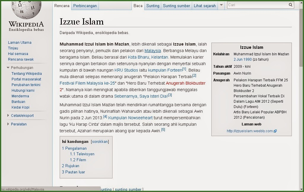 Izzue Islam carian paling popular