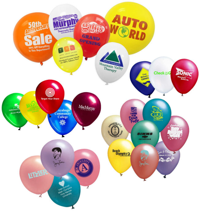 99 Promotional Balloons - 4allpromos.