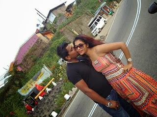 sheryl and ruwan kiss
