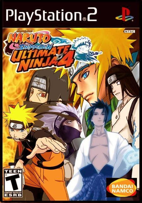 Cheat Kode Naruto Shippuden Ultimate Ninja 4 PS2 Bahasa Indonesia