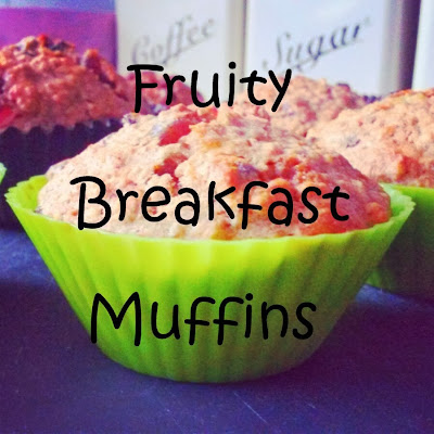 Single Mother Ahoy fruity breakfast muffins