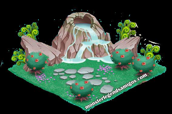 imagen de la montaña de cria de monster legends