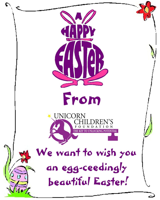Happy Easter fr... Unicorn Foundation