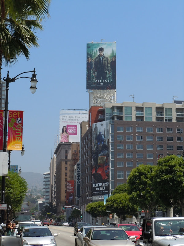 Harry Potter Deathly Hallows Part 2 billboard
