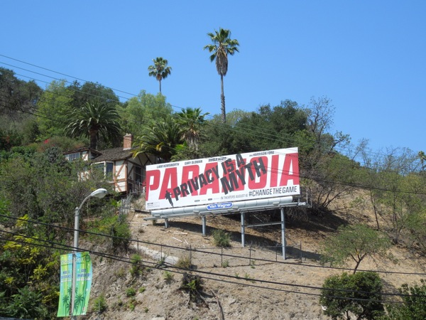 Paranoia Privacy is a Myth movie billboard