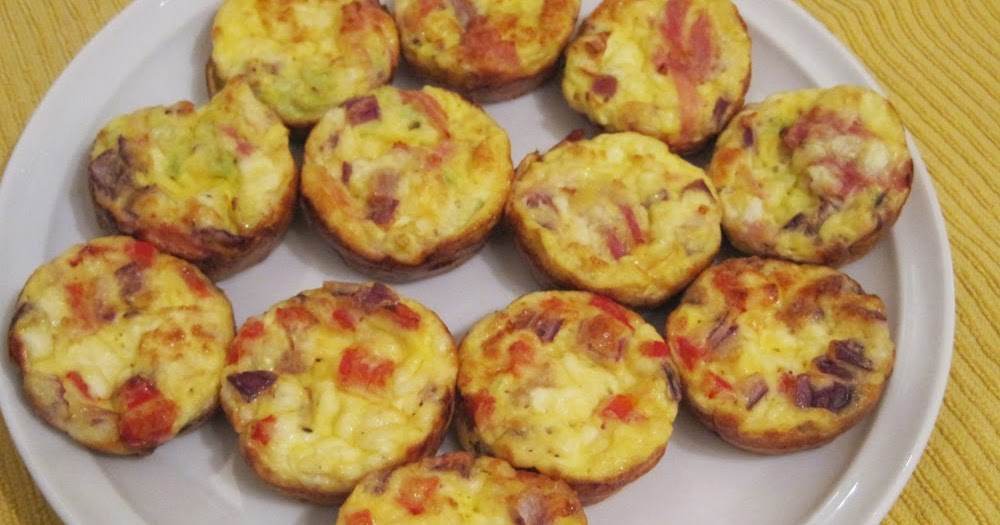 Mini Crustless Quiches - a Slimming World recipe | Every Word ...