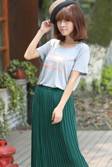 Tshirt and Maxi Skirt