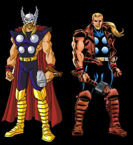 Galería de Portadores del Mjolnir - Thunderstrike