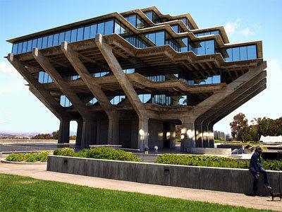 Perpustakaan Geisel di San Diego, AS