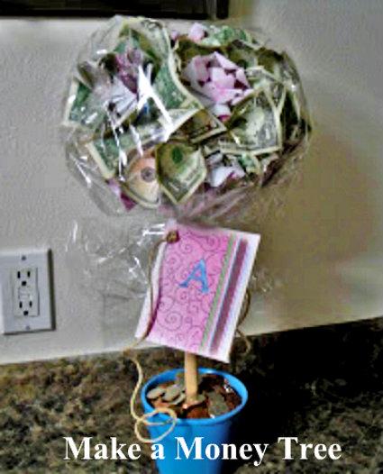 How to make a money tree poppy juice clever graduation gift ideas negle Choice Image
