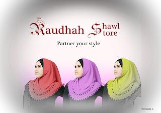 Raudhah Shawl Store Pemborong Tudung Online